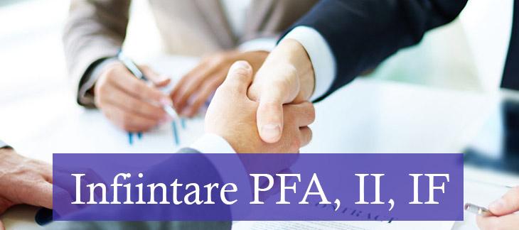 infiintare-PFA-II-IF